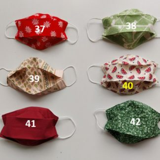 Masks #37-42