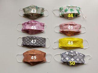 Masks #43-50